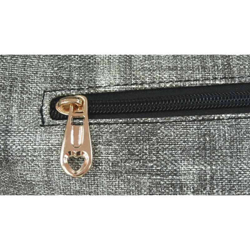 Torebka tekstylna (czarna)