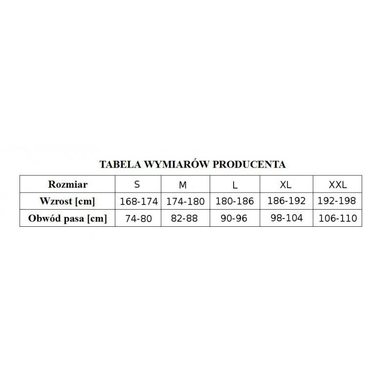 Podkoszulek męski Moraj 100% bawełna (czarny)