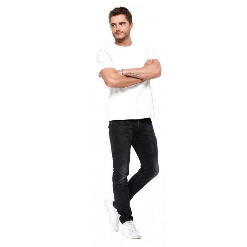T-shirt męski MORAJ 100 % bawełna (biały)