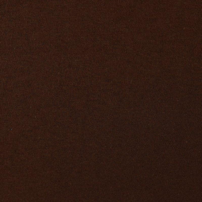 Brązowe prześcieradło z gumką 160x200 JERSEY Brąz Prześcieradło Bawełniane z Gumką 160x200
