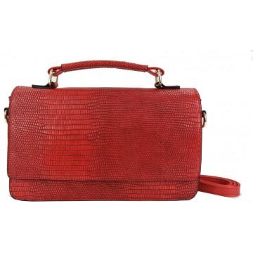 Torebka kopertówka (czerwona)