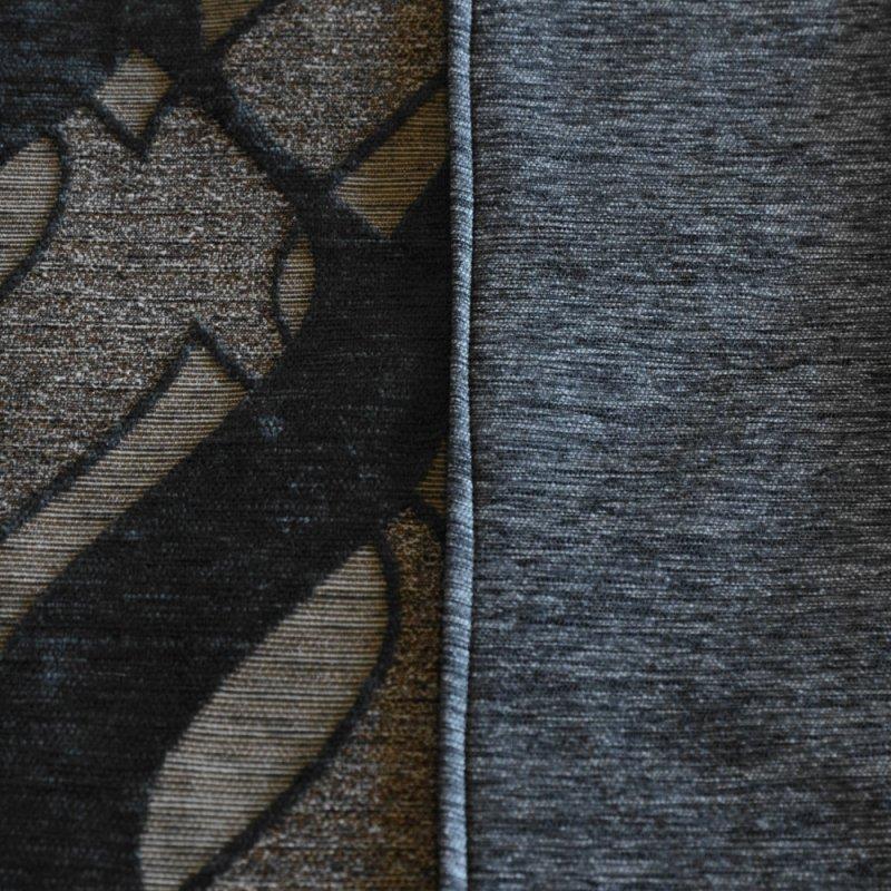 Dwustronna Grafitowa Narzuta Na Łóżko 170x200 Na Kanapę 2534 Uniwersalny Pokrowiec na Sofę