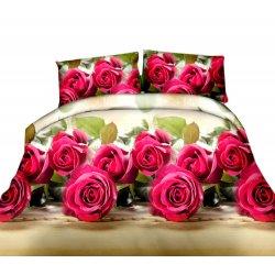 Pościel w Róże 3D Kwiaty 200x220 WZ. 3
