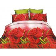Pościel 3D Czerwone Róże 200x220 WZ. 7