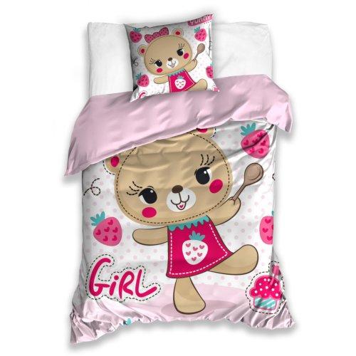 Pościel dla Dziewczynki 140x200 Carbotex KIDS181015