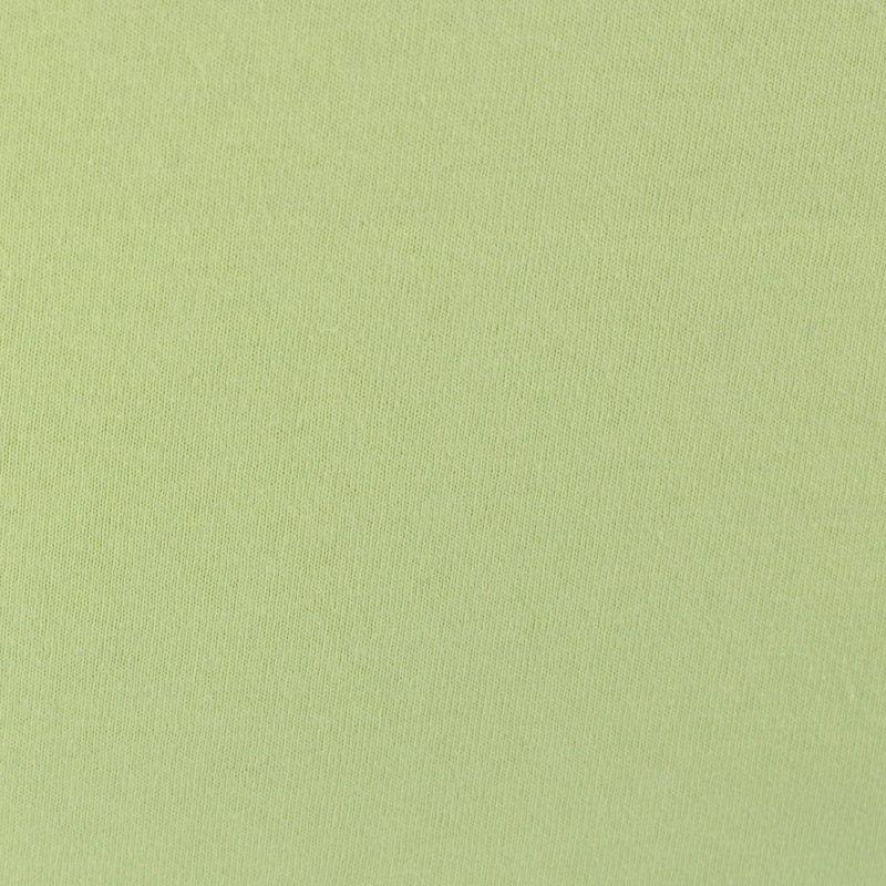 Jasno zielone prześcieradło z gumką 180x200 JERSEY Jasna Zieleń