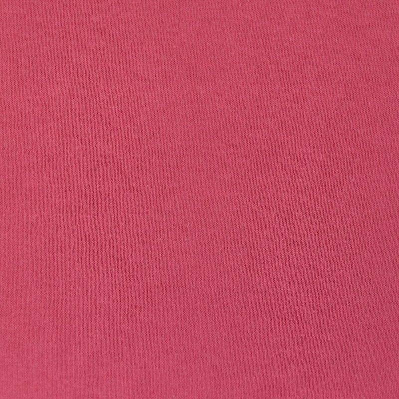 Ciemno różowe prześcieradło z gumką 180x200 JERSEY Ciemny Róż Prześcieradło Bawełniane 180x200