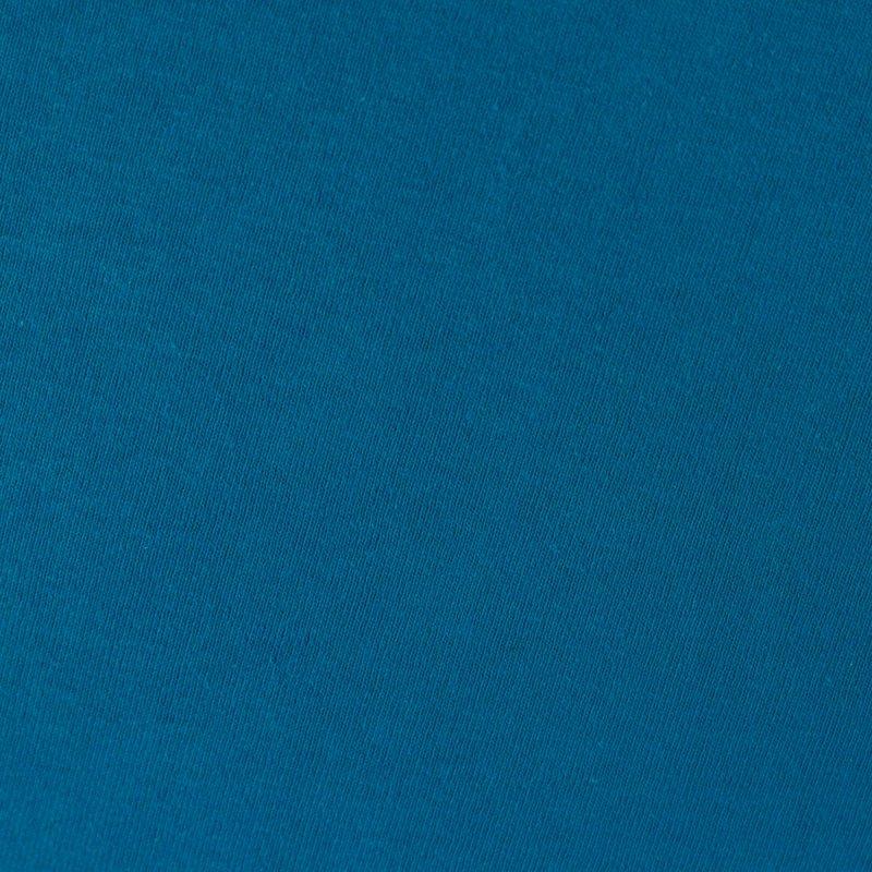 Chabrowe prześcieradło z gumką 180x200 JERSEY Chaber Kobalt Szafir Prześcieradło na Gumce 180x200