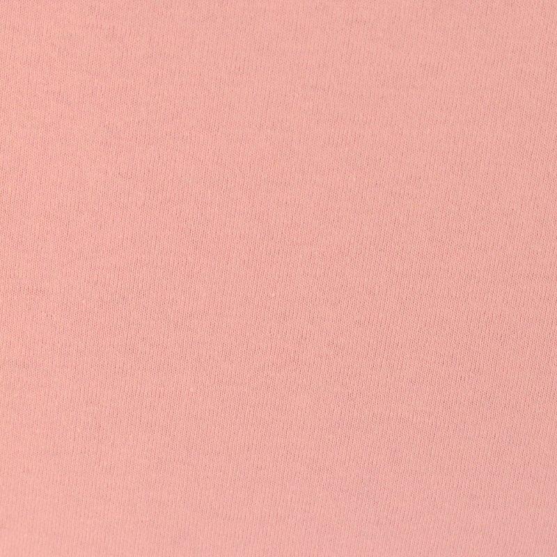 Jasno różowe prześcieradło z gumką 180x200 JERSEY Jasny Róż Prześcieradło z Gumką 180x200