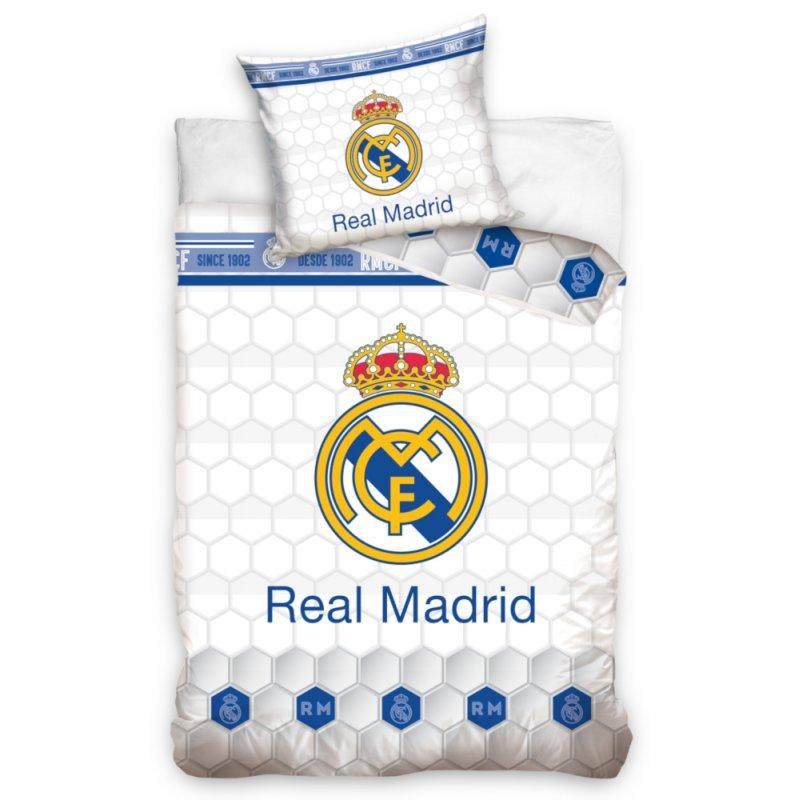 Pościel REAL MADRYT 140x200 RM 181013 Pościel 140x200 Real Madryt