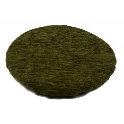 Okrągła poduszka na taboret 30 cm (oliwka)