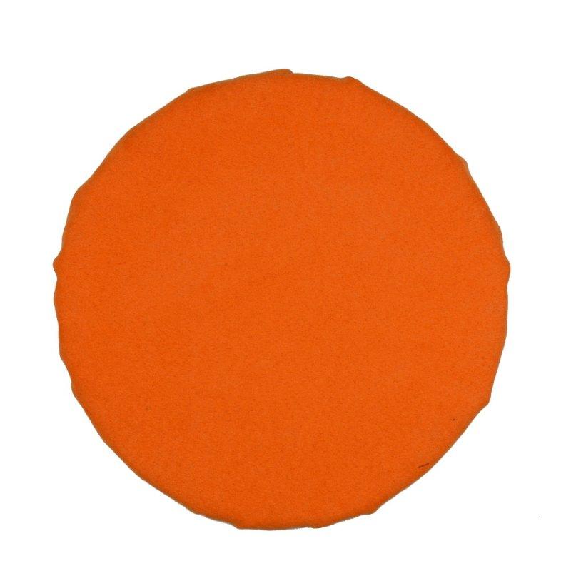 Okrągła poduszka na taboret 30 cm (pomarańczowa)
