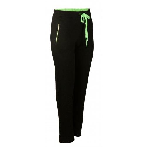 Spodnie dresowe sportowe N-FEEL DUŻY ROZMIAR - Zielone
