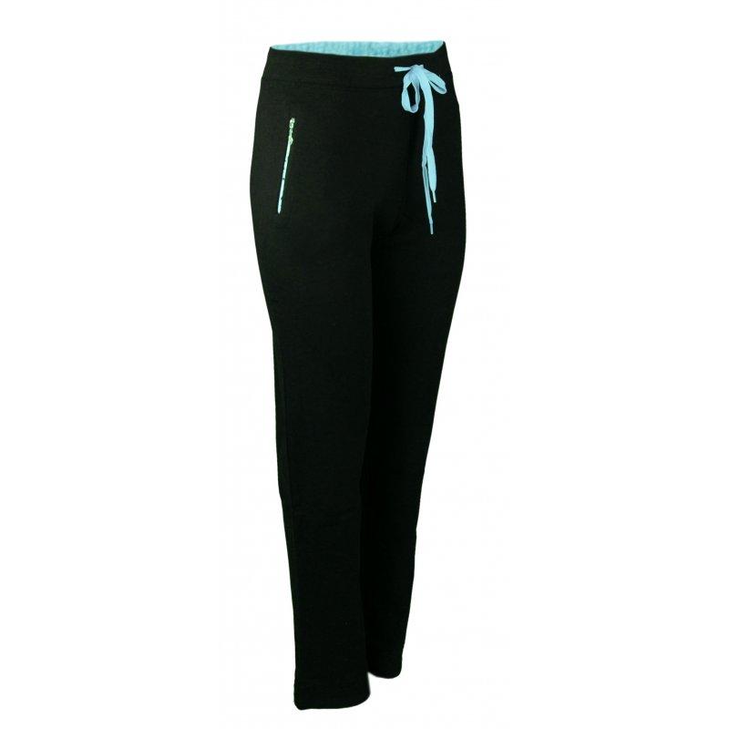 Spodnie dresowe sportowe N-FEEL DUŻY ROZMIAR -niebieskie