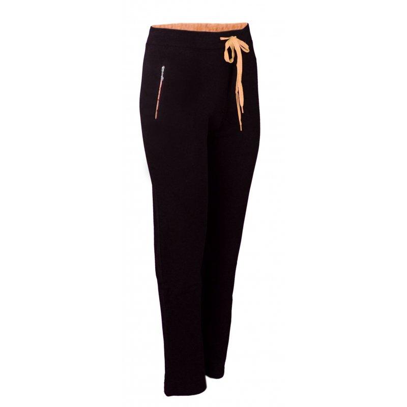 Spodnie dresowe sportowe N-FEEL DUŻY ROZMIAR -pomarańczowe