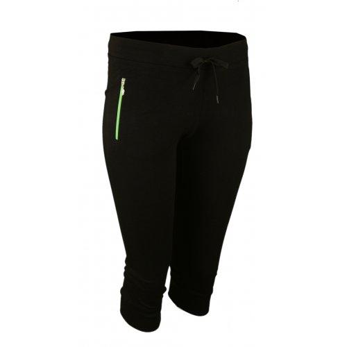 Spodnie dresowe sportowe N-FEEL Rybaczki- zielone