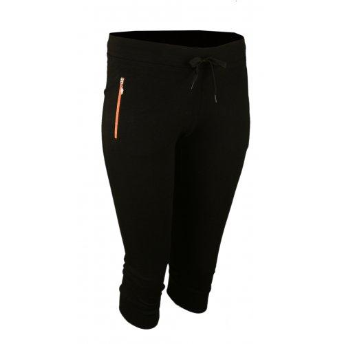 Spodnie dresowe sportowe N-FEEL Rybaczki - pomarańczowe