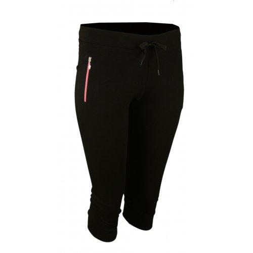 Spodnie dresowe sportowe N-FEEL Rybaczki - różowe