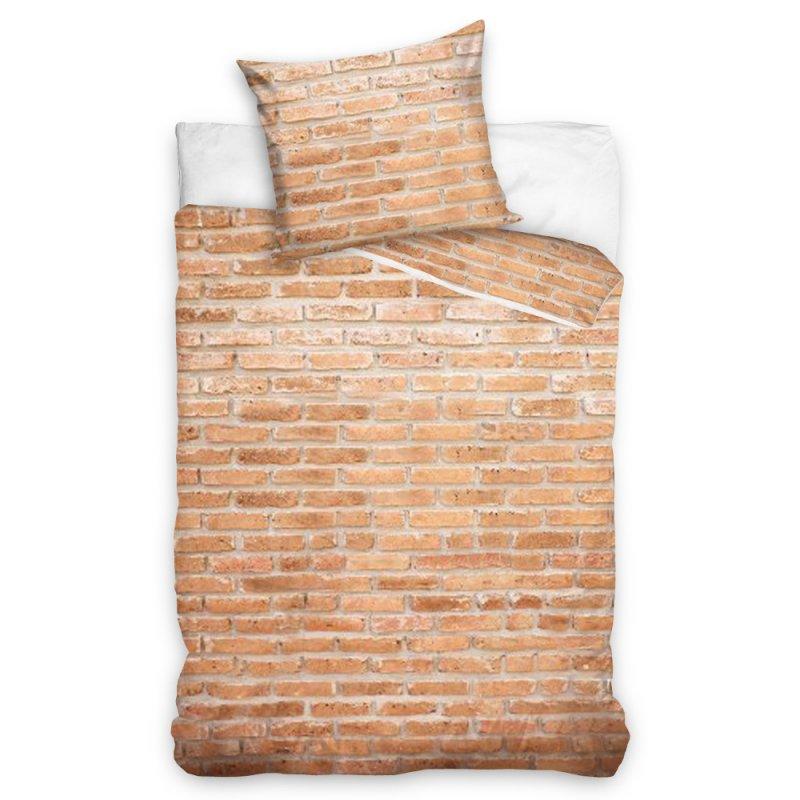 Pościel w Cegły 140x200 Brick YNL181049-P Pościel do Sypialni 140x200