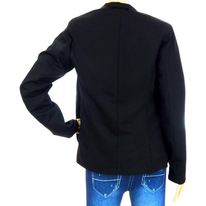 Klasyczny czarny żakiet