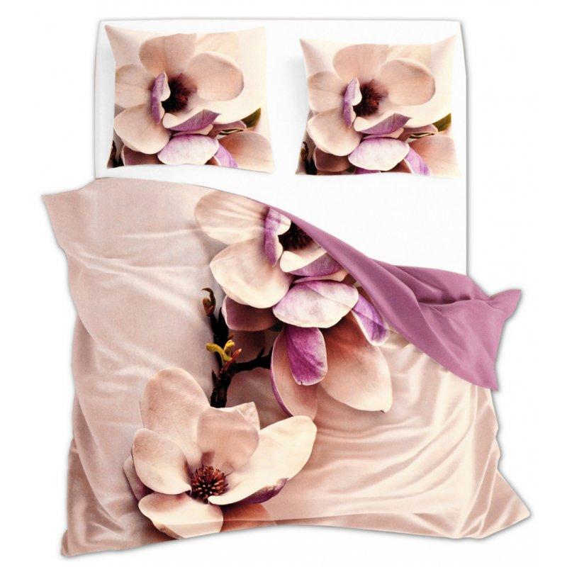 Komplet Pościeli 220x200 Kwiaty Flori 3D 001