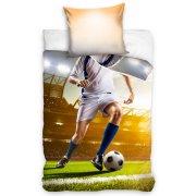 Pościel Młodzieżowa Piłkarz 140x200 Piłka Nożna NL183010