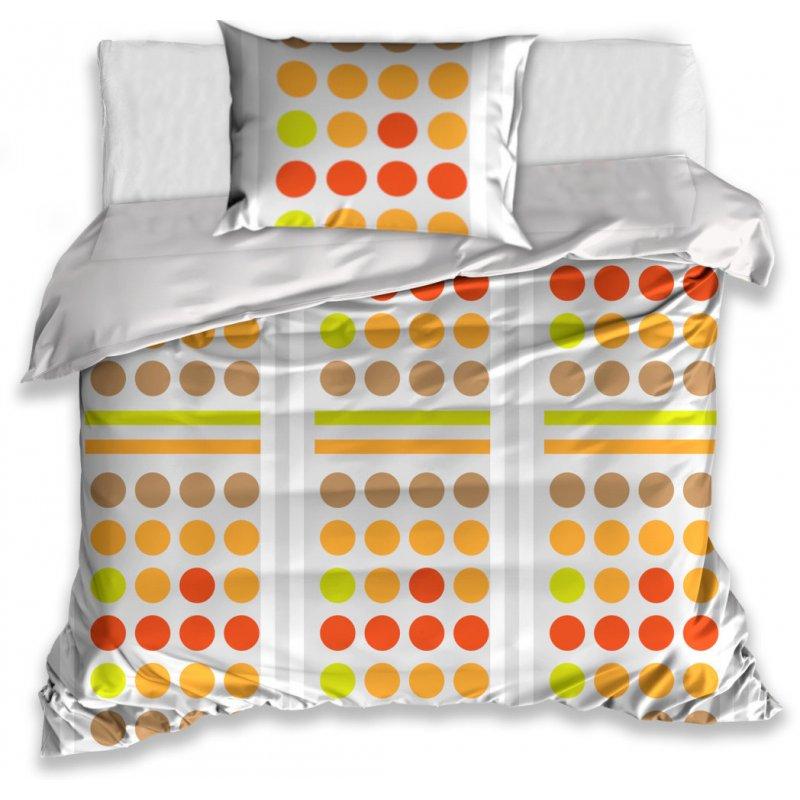 Pościel w Kolorowe Koła 140x200 R0161039 Kolorowa Pościel 140x200