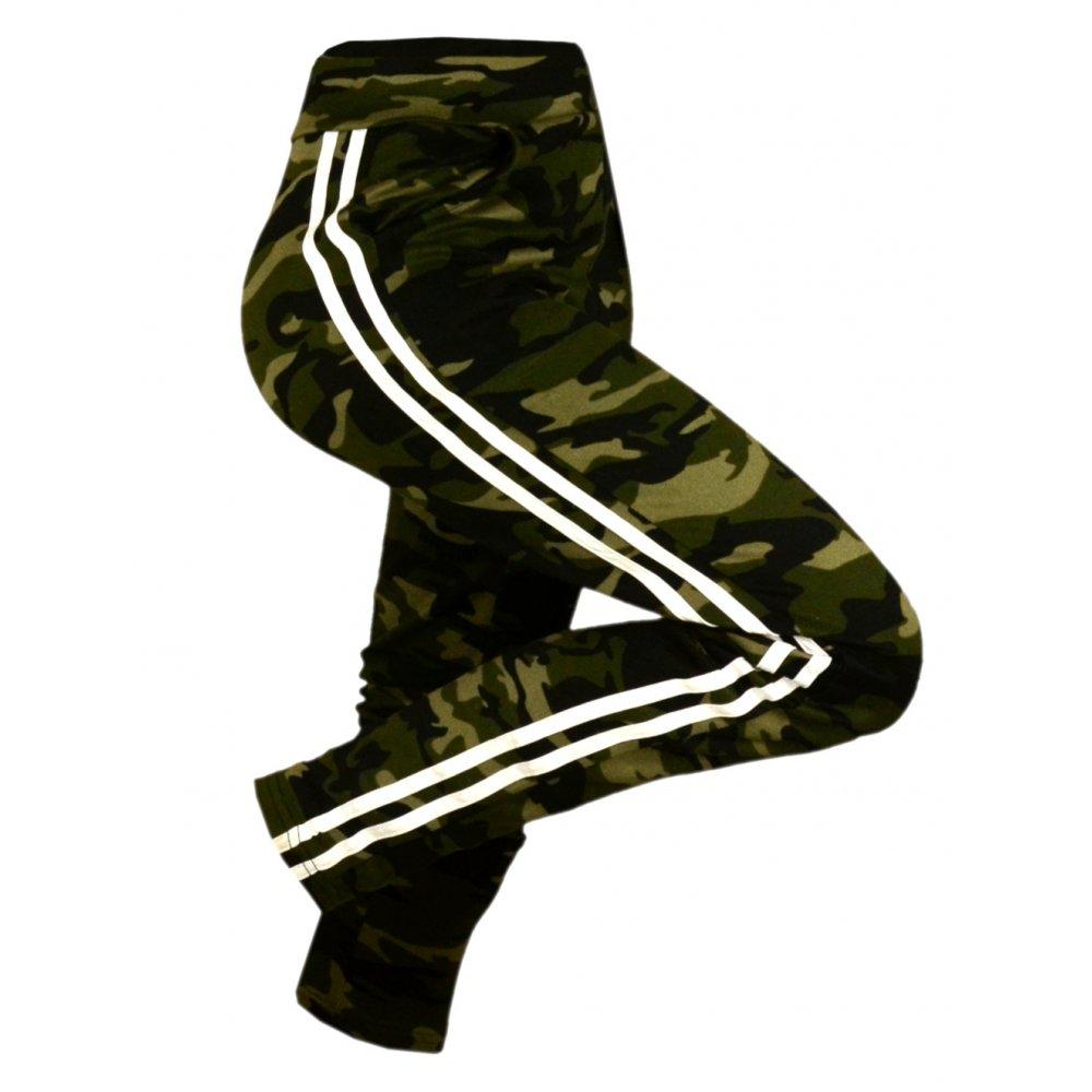8b273281 Spodnie dresowe damskie MORO z lampasem - M/L