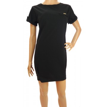 Luźna sukienka (czarna)