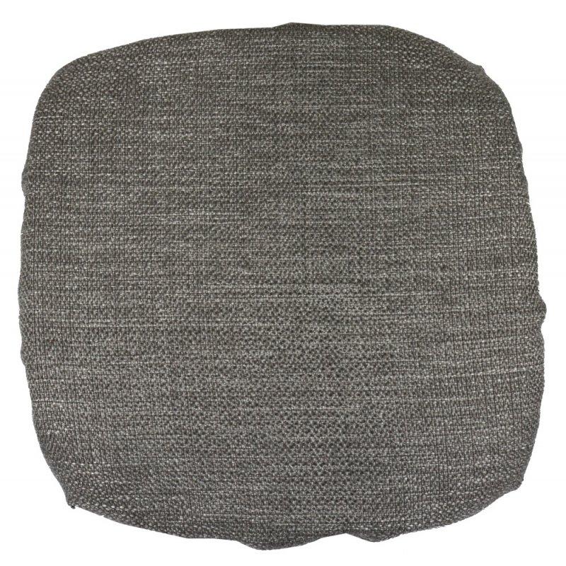 Kwadratowa poduszka na taboret 30x30 cm (szary melanż)