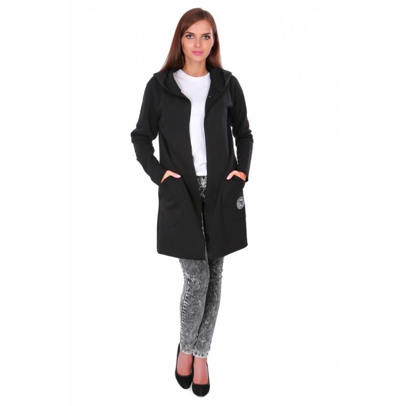 Bluza płaszczyk ST/VK 1414 czarna