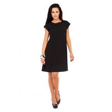 Klasyczna sukienka ST/VK 1456 czarna