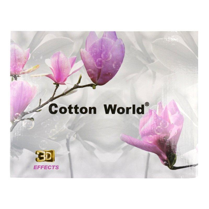 Szara Pościel Cotton World 160x200 WZ. 2 Pościel 3D mikrowłókno 160x200